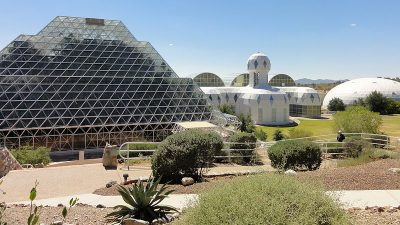 Image: Biosphere 2 rainforest