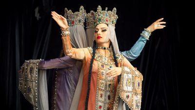 Image: Two Sukhishvili Dancers