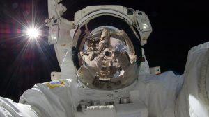 Image: astronaut selfie
