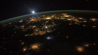 Image: view of Earth from space