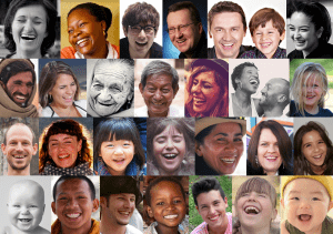 Image: Pictures of people smiling