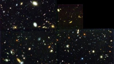 Image: Hubble deep field image of deep space