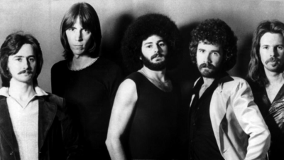 Image: The band BOSTON together in 1977