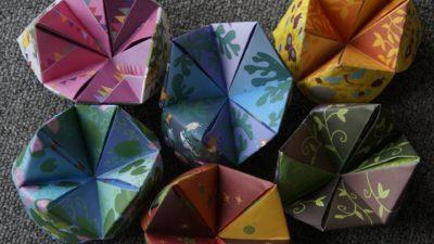 Image: Origami paper art
